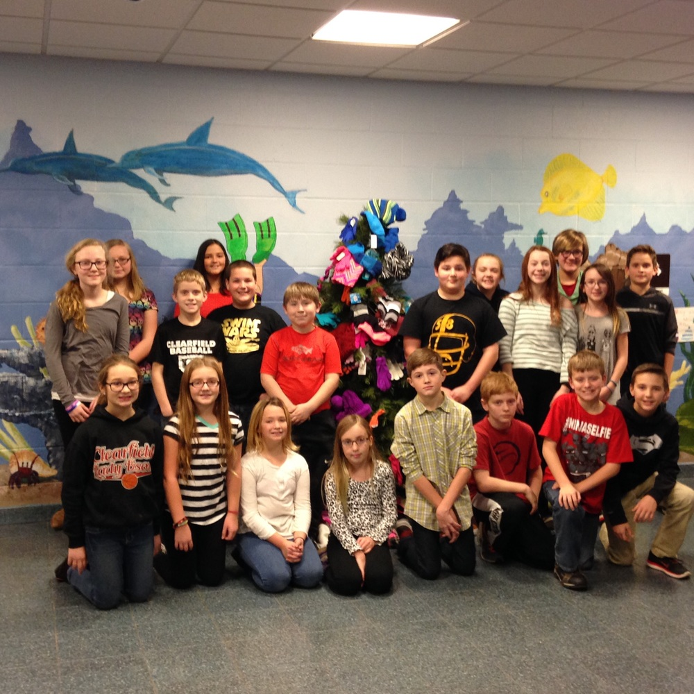Student Council Collects for Those in Need