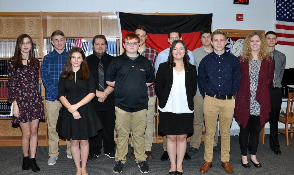 German National Honor Society Induction