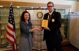 Mrs. Borden- Rotary Outstanding Citizen
